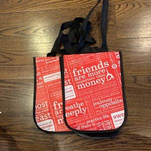 Lululemon Small Shopping Bags 2 pack